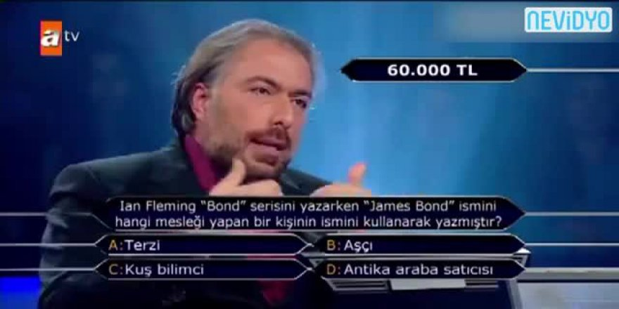 'Kim Milyoner Olmak İster'e damga vuran yarışmacı!