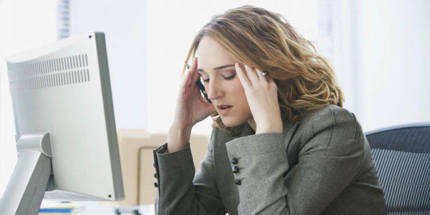 Baş edilemeyen stresin sonucu felaket olabilir!