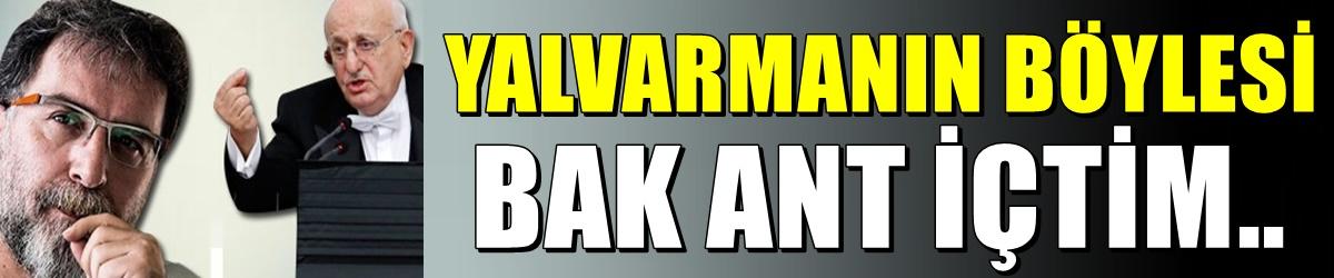 Kahraman'ın o sözleri Ahmet Hakan'ı yalvarttı