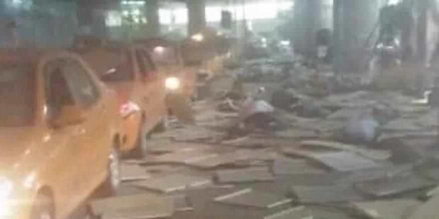 Patlama sonrası büyük ahlaksızlık!