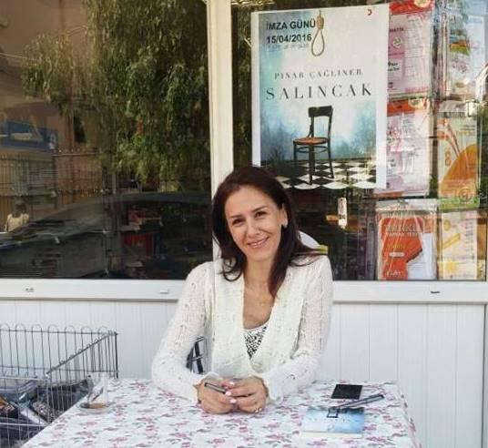 Pınar Çağlıner'in ''Salıncak'' kitabı hayran bıraktı!