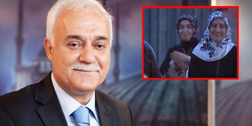 Nihat Hatipoğlu'ndan eşine jest