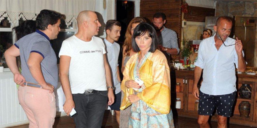 Hadise'nin mekanı savaş alanına döndü, Gülşen ve eşi Ozan Çolakoğlu...