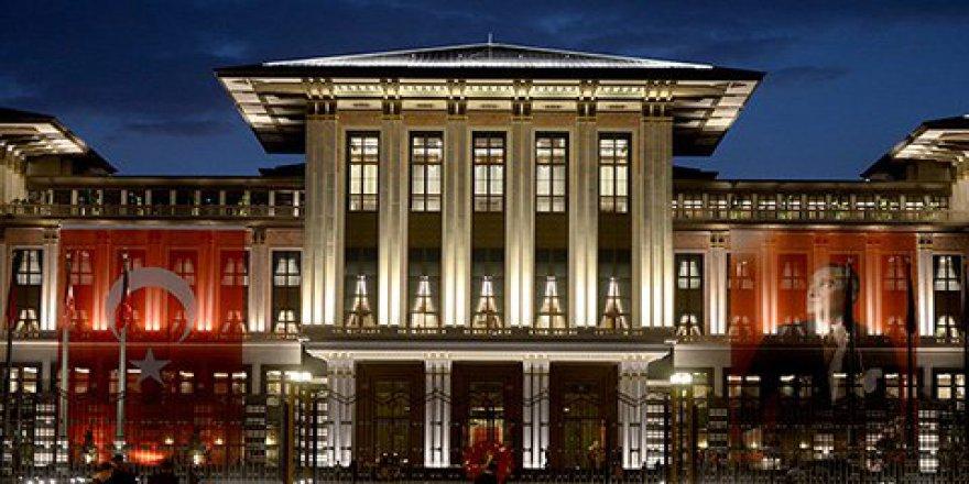 Cumhurbaşkanlığı Sarayı'na ateş açıldı