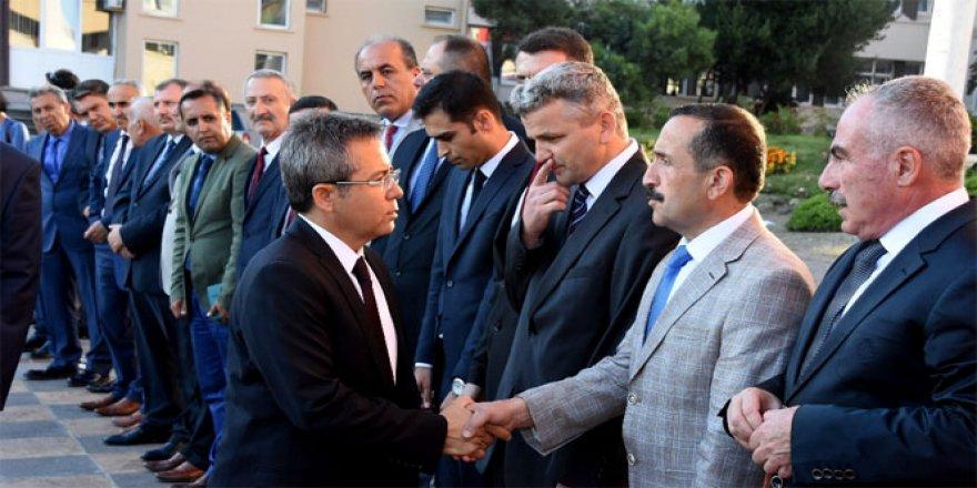 Sinop'ta yeni vali 'Kemal Cirit' göreve başladı