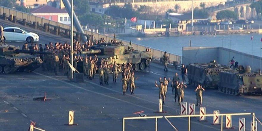 İstanbul il genelinde gözaltına alınan askerlerden 121'i tutuklandı