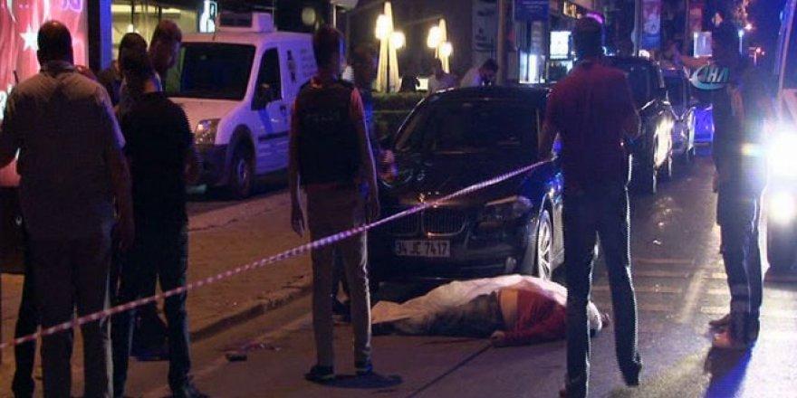 İstanbul Etiler'de silahlı saldırı!