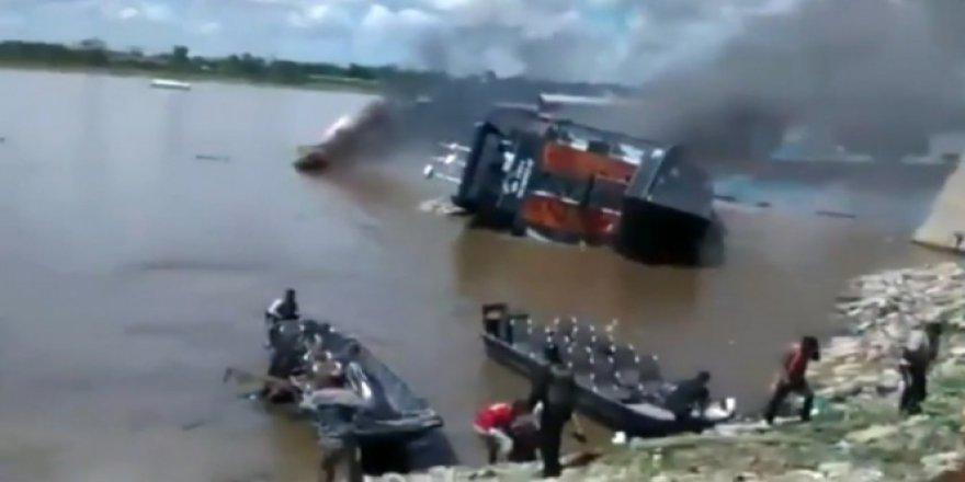 Amazon'da tekne faciası: 1 ölü, 4 kişi ise kayıp!
