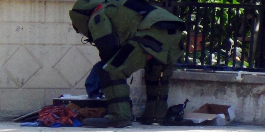 Karaman'da şüpheli valiz paniğe yol açtı!