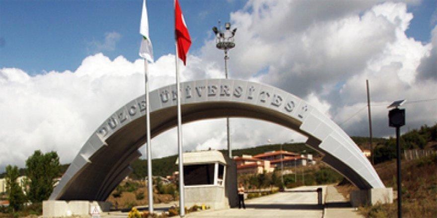 Düzce Üniversitesi'nde 16 kişi açığa alındı