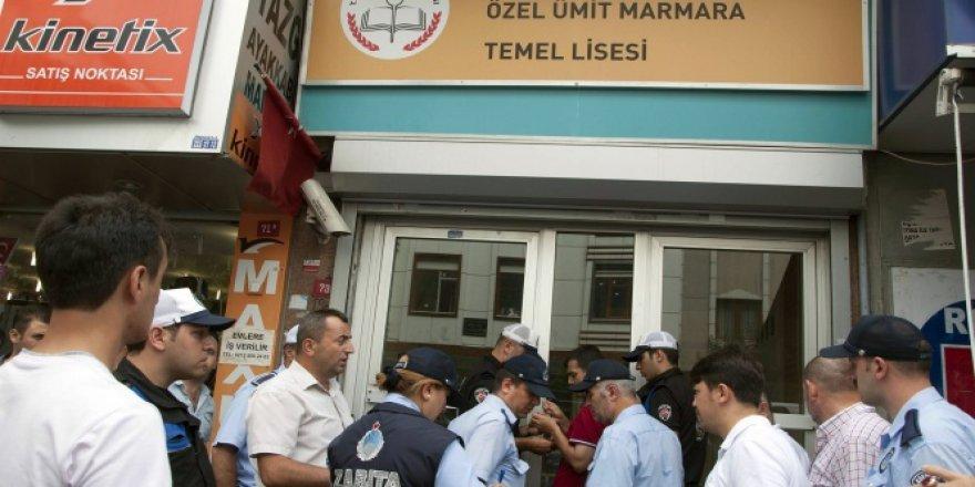 Esenler'de 5 eğitim kurumu kapatıldı