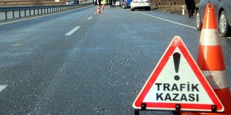 Çorum'da trafik kazası!