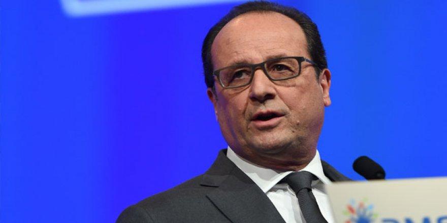 François Hollande: 'Irak'a ağır silah desteği sağlanacak'