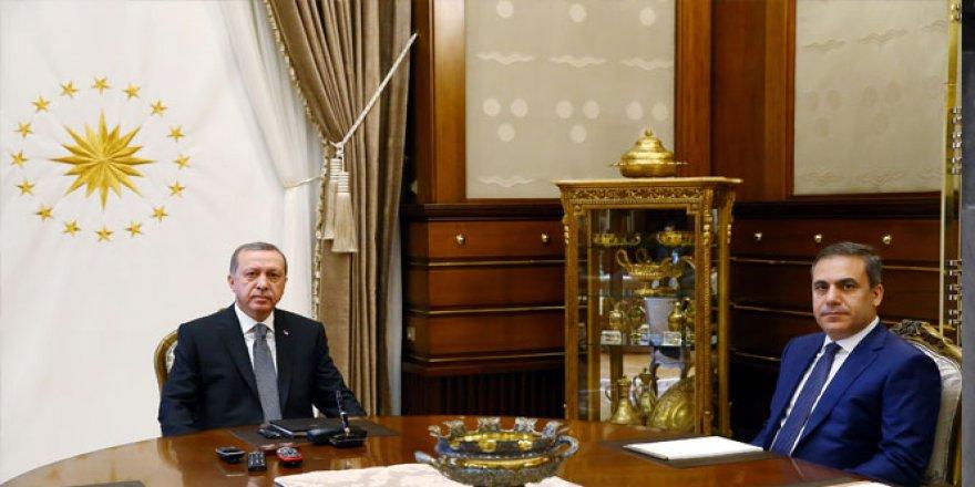 Cumhurbaşkanı Erdoğan, Hakan Fidan'ı kabul edecek
