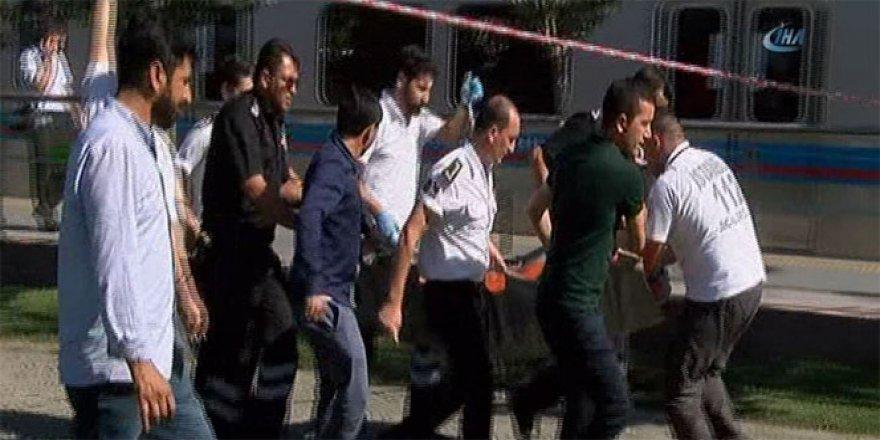 Topkapı tramvay durağında silahlı saldırı