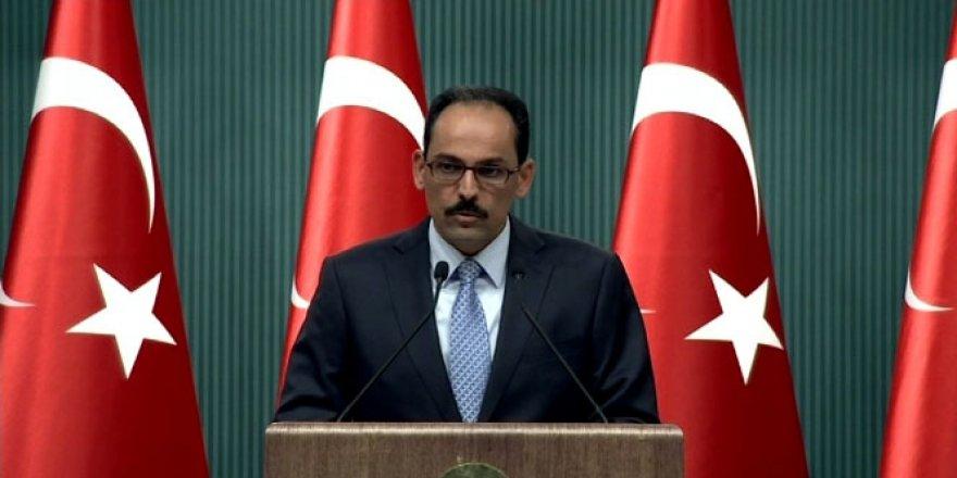 """Cumhurbaşkanlığı Sözcüsü İbrahim Kalın: """"Darbe lideri hesap vermeli"""""""