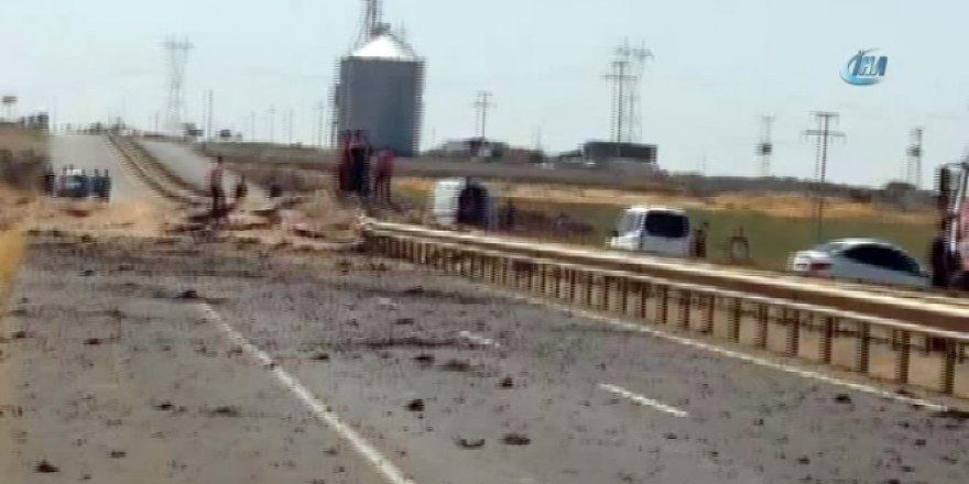 Mardin Kızıltepe'de zırhlı aracın geçişi sırasında patlama