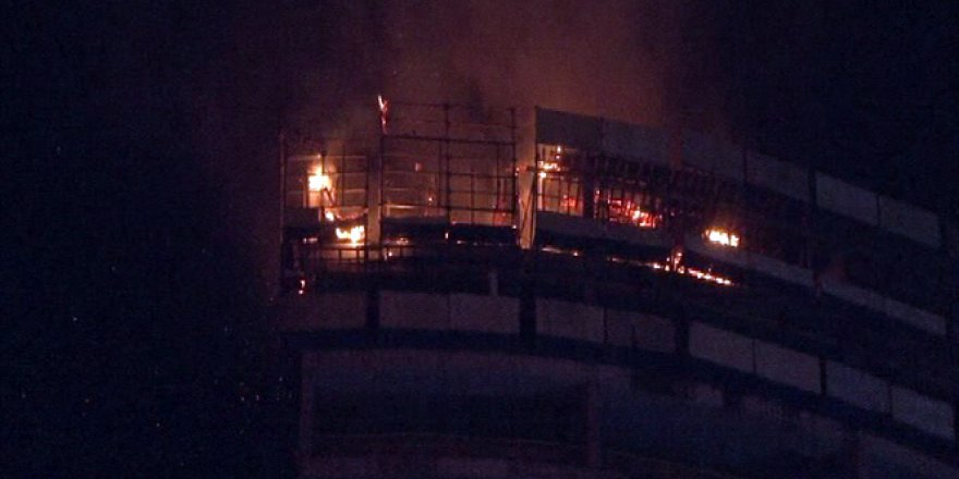 İstanbul'da AVM'de korkutan yangın!
