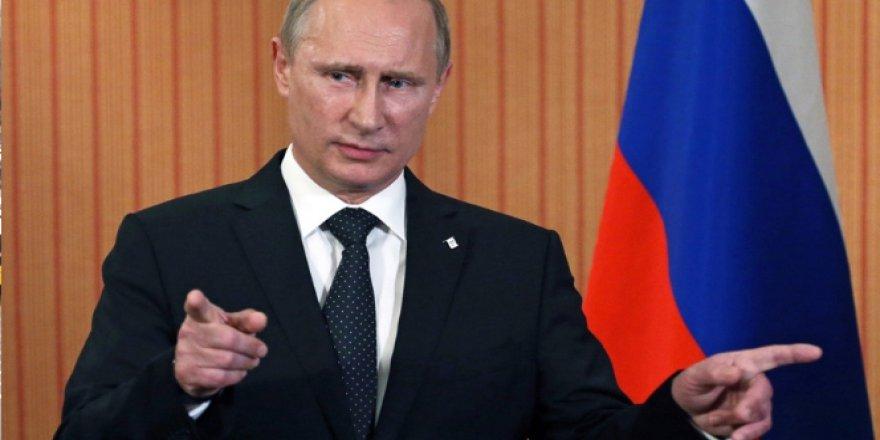 Vladimir Putin karara öfkeli!