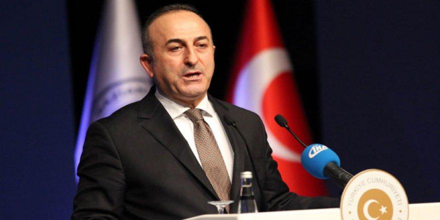 Bakan Çavuşoğlu'ndan önemli telefon görüşmesi