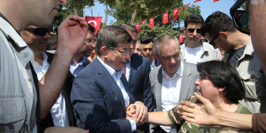 Ahmet Davutoğlu'nun 15 Temmuz duası