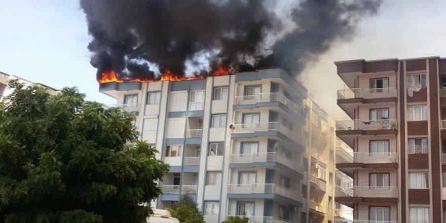 İzmir'de korkunç yangın!