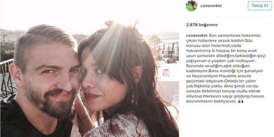 Erkin: 'Sonunda aşık olduğum kadınlayım'
