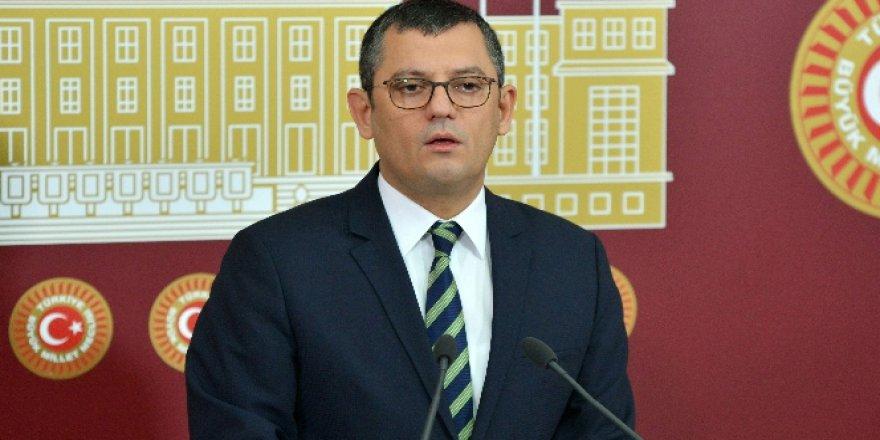 CHP'li Özel'den 'kaset kumpası' açıklaması