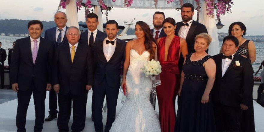 Fenerbahçeli Hasan Ali Kaldırım dünya evine girdi