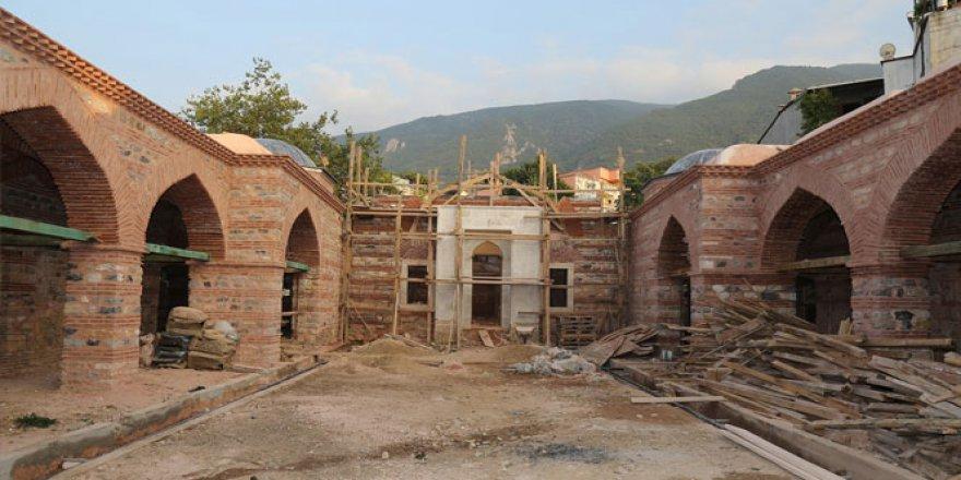 Bursa'da 5 asırlık medrese gün yüzüne çıktı!
