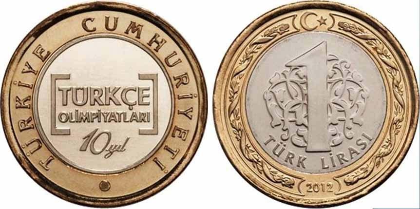 FETÖ'nün Türkçe Olimpiyatları için Atatürk'süz para bastılar