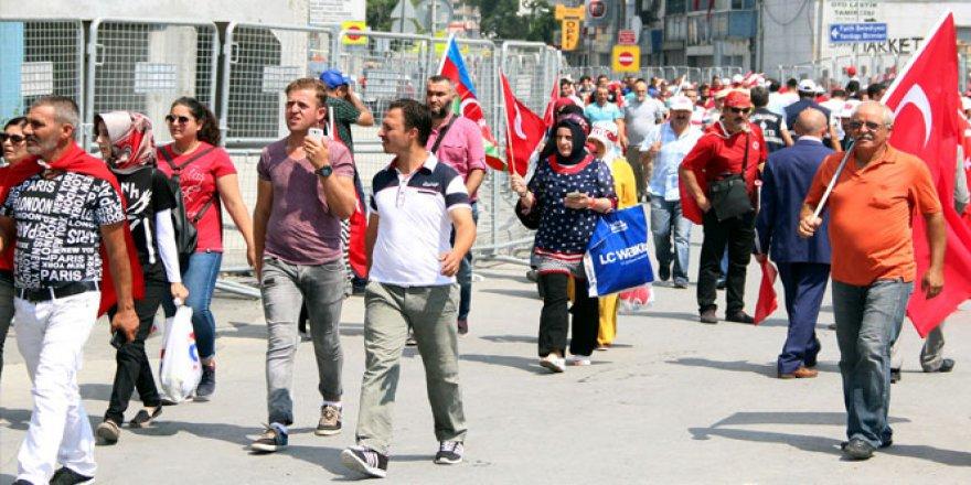 CHP yürüyüşü iptal!