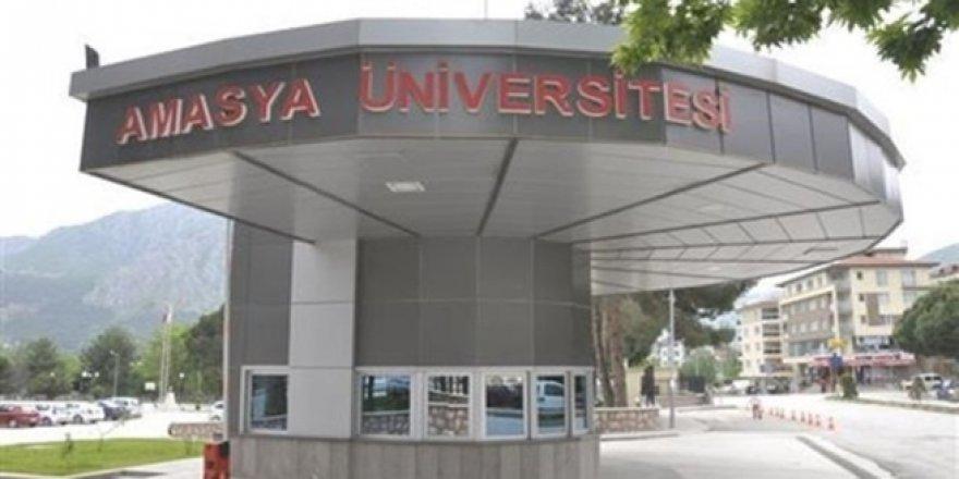 Amasya Üniversitesi'nde FETÖ operasyonu! 9 personel açığa alındı
