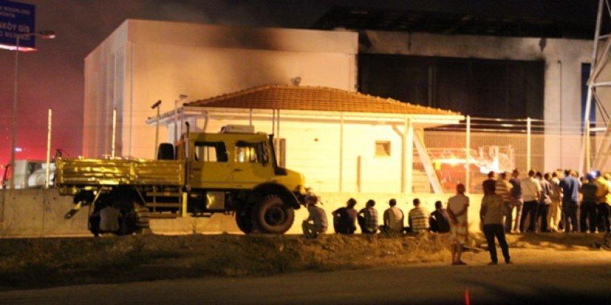 Konya'da trafo merkezinde patlama!