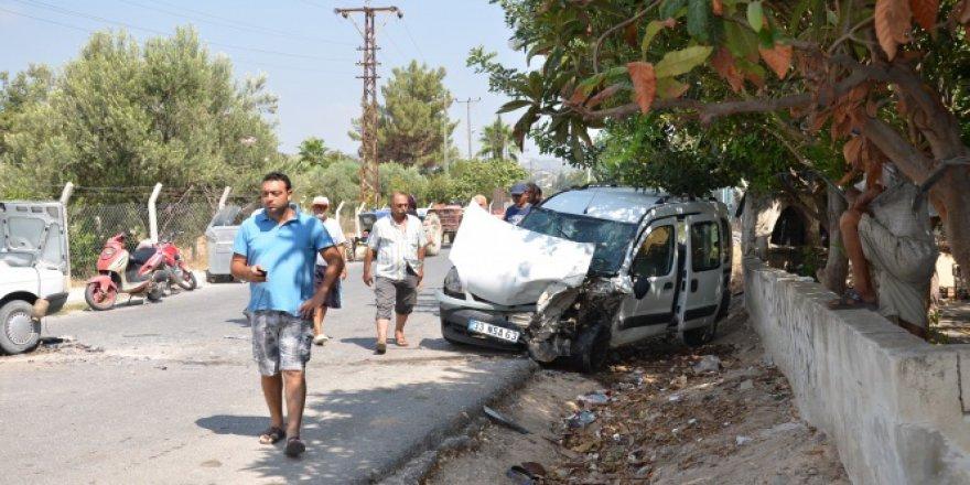 Mersin'de trafik kazası: 1 ölü, 3 ağır yaralı