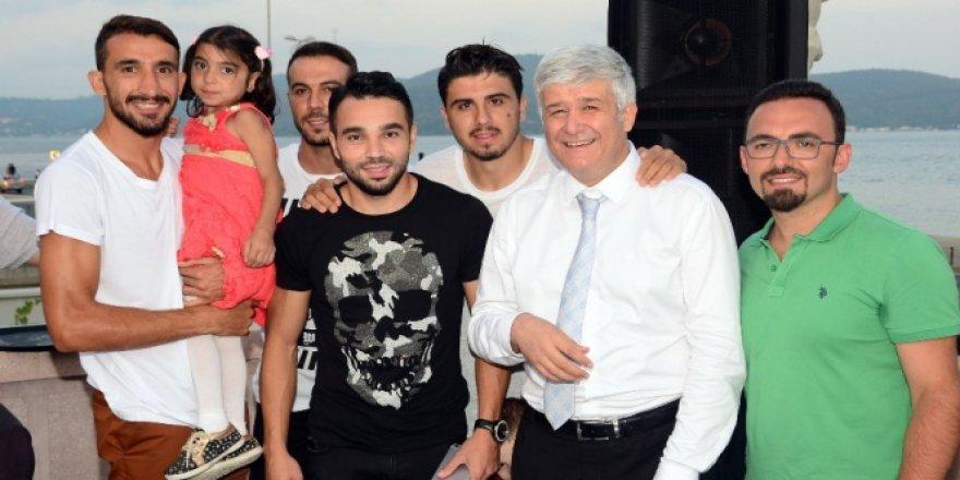 Mehmet Topal'dan örnek hareket