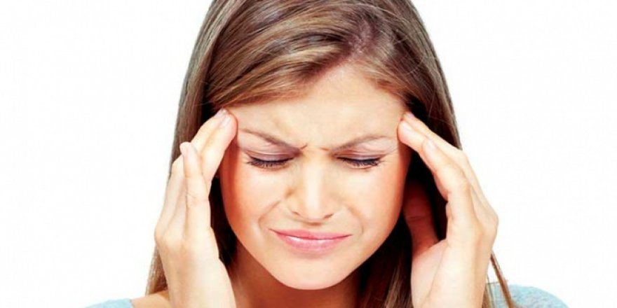 Şiddetli baş ağrılarına dikkat!