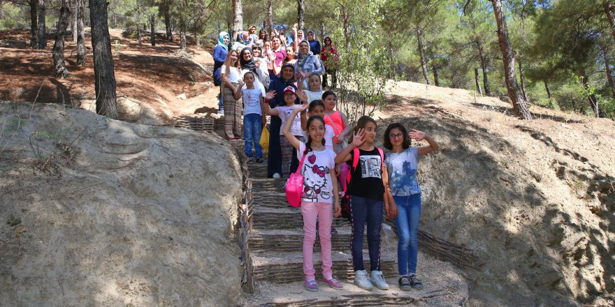 Tokat Geyras'ta çocuklara 'Doğa Parkuru'