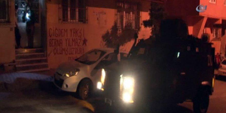 İstanbul, Sultangazi'de helikopter destekli terör operasyonu