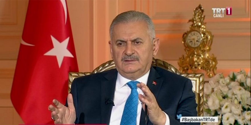 Başbakan Binali Yıldırım: 'Üst aklın bir elinde FETÖ bir elinde PKK var'
