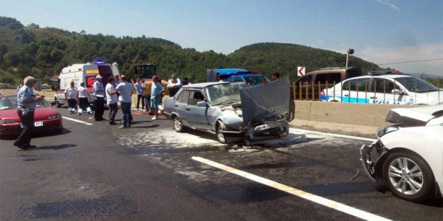 Bolu Dağı geçişinde trafik kazası: 10 yaralı