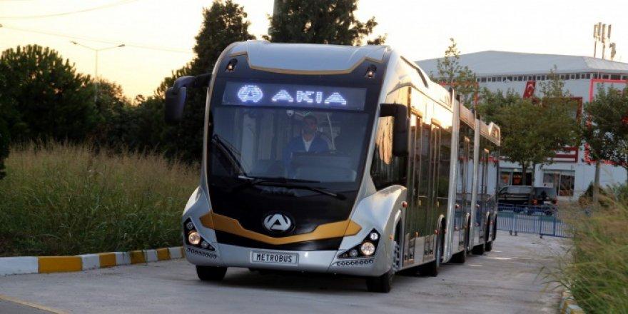 Bursa'da artık metrobüs de üretiliyor