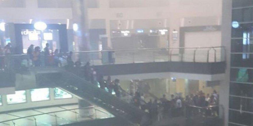 Antalya Havalimanı'nda korkutan yangın!