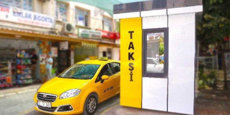 Torbalı'da Taksi Durakları Yenilendi