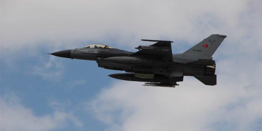 81 hedefe 294 atım: F-16'lar da havada