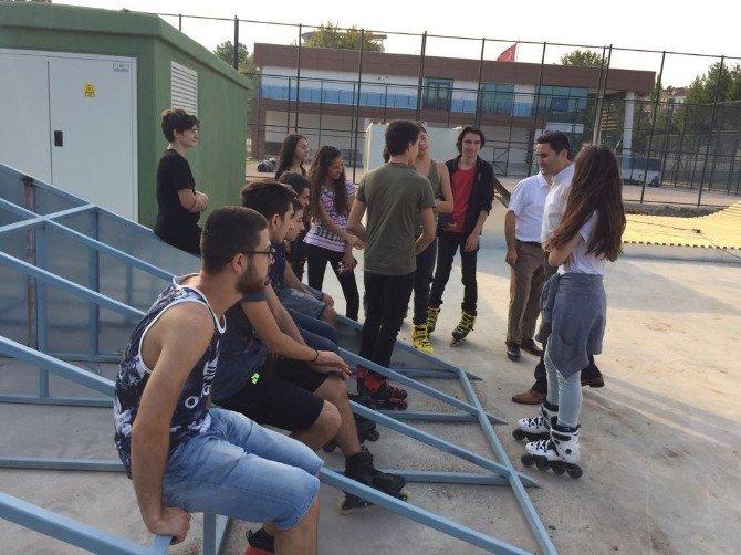 Eyüp Eroğlu, Gençlerin Skypark Talebine Duyarsız Kalmadı