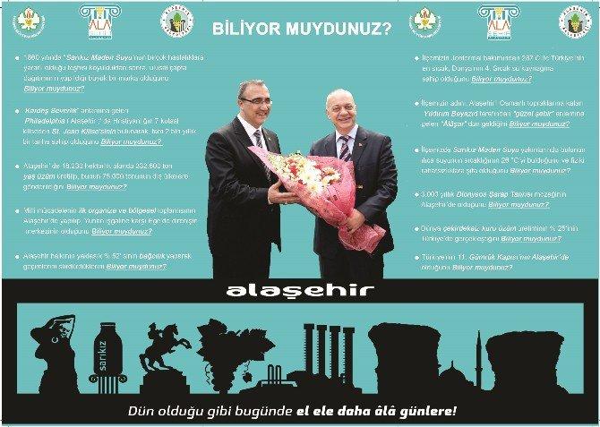 İzmir Fuarının Onur Konuğu Manisa, Gözdesi Alaşehir Olacak