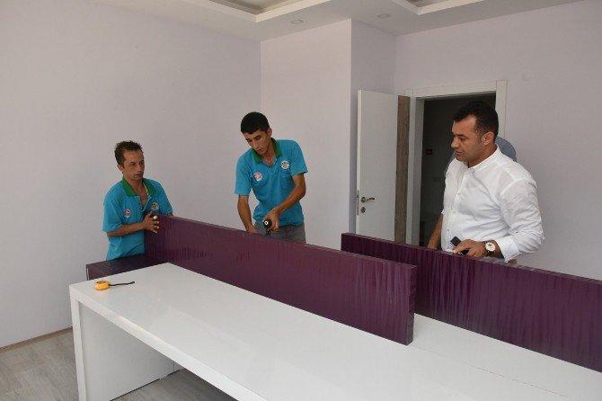Başkan Adem Murat Yücel, Oba Kız Yurdunu İnceledi