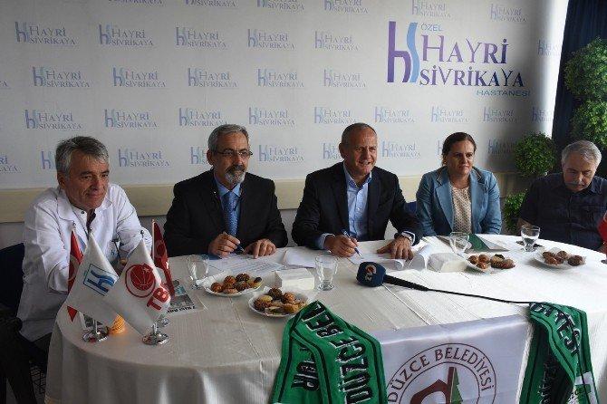 Düzce'de Sporcular İçin Sponsorluk Anlaşması İmzalandı