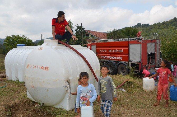 Alaplı Belediyesi Fındık İşçilerinin Su İhtiyacını giderdi